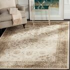Tuller Stone & Mouse Oriental Ivory Area Rug Rug Size: Rectangle 4' x 5'7