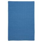 Glasgow Solid Blue Indoor/Outdoor Area Rug Rug Size: Square 6'