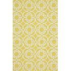 Colley Yellow Indoor/Outdoor Area Rug Rug Size: Rectangle 5' x 8'