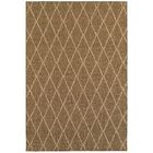 Carondelet Brown/Sand Indoor/Outdoor Area Rug Rug Size: Rectangle 5'2