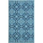 Carvalho Blue Indoor/Outdoor Area Rug Rug Size: Rectangle 4' x 6'