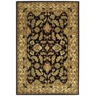 Cranmore Black & Beige Area Rug Rug Size: Rectangle 9'6