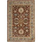 Cranmore Brown & Blue Area Rug Rug Size: Rectangle 9' x 12'