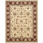 Cranmore Ivory/Red Area Rug Rug Size: Rectangle 4' x 6'