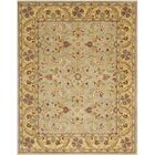Cranmore Green/Gold Floral Area Rug Rug Size: Rectangle 5' x 8'