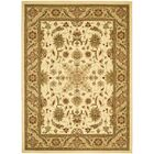 Ottis Cream/Tan Area Rug Rug Size: Rectangle 3'3