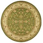 Ottis Sage/Ivory Area Rug Rug Size: Round 8'