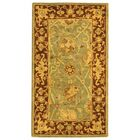 Dunbar Green/Brown Area Rug Rug Size: Rectangle 2'3