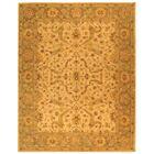 Dunbar Hand-Woven Wool Ivory/Brown Area Rug Rug Size: Rectangle 8'3