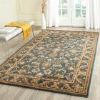 Dunbar Blue/Gold Area Rug Rug Size: Rectangle 3' x 5'