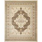 Lavelle Ivory / Brown Area Rug Rug Size: Rectangle 4' x 6'
