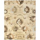 Lavelle Ivory / Brown Area Rug Rug Size: Rectangle 9' x 12'
