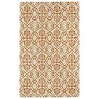 Corine Orange Area Rug Rug Size: Rectangle 9'6
