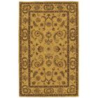 Cortese Gold/Brown Area Rug Rug Size: Rectangle 5' x 8'