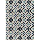 Cowell Blue Indoor/Outdoor Area Rug Rug Size: Rectangle 5'3