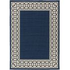 Osage Navy Indoor/Outdoor Area Rug Rug Size: Rectangle 6'7