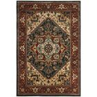 Rasmussen Gray/Red Area Rug Rug Size: Rectangle 8' x 10'