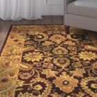 Bromley Burgundy/Gold Rug Rug Size: Rectangle 4' x 6'