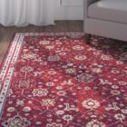 Gilson Claret Area Rug Rug Size: Rectangle 6'6