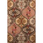 Pearl Hand-Tufted Pink/Brown Area Rug Rug Size: Rectangle 8' x 11'