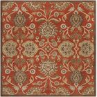 Mcloon Hand-Woven Wool Red Area Rug Rug Size: Rectangle 9' x 12'