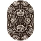 McLoon Oyster Gray Area Rug Rug Size: Rectangle 4' x 6'