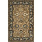 Cranmore Hand-Tufted Brown/Blue Area Rug Rug Size: Rectangle 8' x 10'