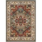Lowe Gray/Beige Area Rug Rug Size: Rectangle 9' x 12'