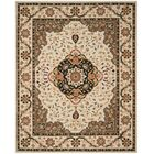 Bryonhall Hand Hooked Area Rug Rug Size: Rectangle 8' x 10'