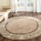 Fullmer Hand Hooked Area Rug Rug Size: Round 8'