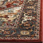 Lowe Red/Beige Area Rug Rug Size: Rectangle 8' x 10'