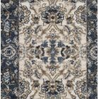 Arthur Beige/Blue Area Rug Rug Size: Rectangle 8' x 10'