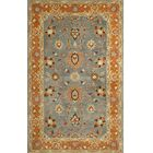 Cranmore Hand-Tufted Gray/Orange Area Rug Rug Size: Rectangle 5' x 8'
