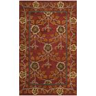 Cranmore Hand-Tufted Red/Orange Area Rug Rug Size: Square 6'