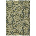 Glenn Azure Floral Indoor/Outdoor Area Rug Rug Size: Square 7'9