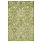 Covedale Hand-Woven Green Indoor/Outdoor Area Rug Rug Size: Rectangle 5' x 7'6