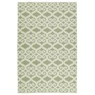 Covington Cream/Green Indoor/Outdoor Area Rug Rug Size: Rectangle 9' x 12'