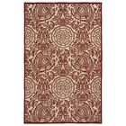 Covedale Machine Woven Red Indoor/Outdoor Area Rug Rug Size: Rectangle 8'8