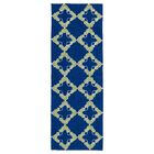 Cowan Hand-Tufted Navy Indoor/Outdoor Area Rug Rug Size: Rectangle 9' x 12'