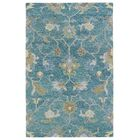 Casper Hand-Tufted Wool Blue Area Rug Rug Size: Rectangle 8' x 10'