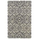 Corine Grey Area Rug Rug Size: Rectangle 5' x 7'9
