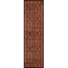 Crescent Red Area Rug Rug Size: Rectangle 3'11