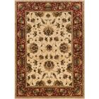 Currahee Beige/Red Area Rug Rug Size: Rectangle 9'10