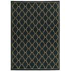 Delshire Lattice Navy/Light Grey Area Rug Rug Size: Rectangle 3'3