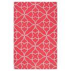 Atkins Pale Jade/Honeysuckle Pink Geometric Area Rug Rug Size: Rectangle 8' x 11'