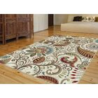 Concord Ivory Area Rug Rug Size: 7'10'' x 10'3''