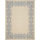 Meriline Ivoly/Blue Outdoor Area Rug Rug Size: Rectangle 7'10