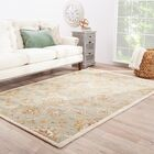 Thornhill Rug in Blue & Ivory Rug Size: Runner 4' x 16'