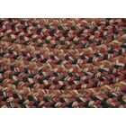 Greenlaw Rosewood Area Rug Rug Size: Round 6'