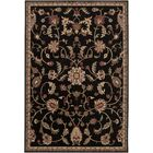 Gaskins Dark Brown Area Rug Rug Size: Rectangle 6'6